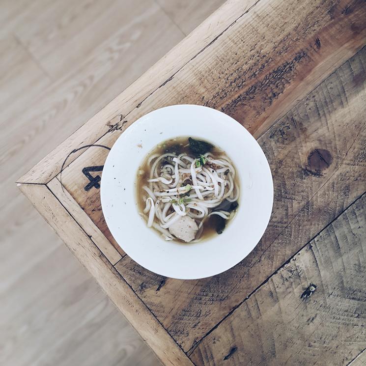 Ada 3 rasa: Pork Boat Noodles, Tom Yum Boat Noodles dan Beef Noodles