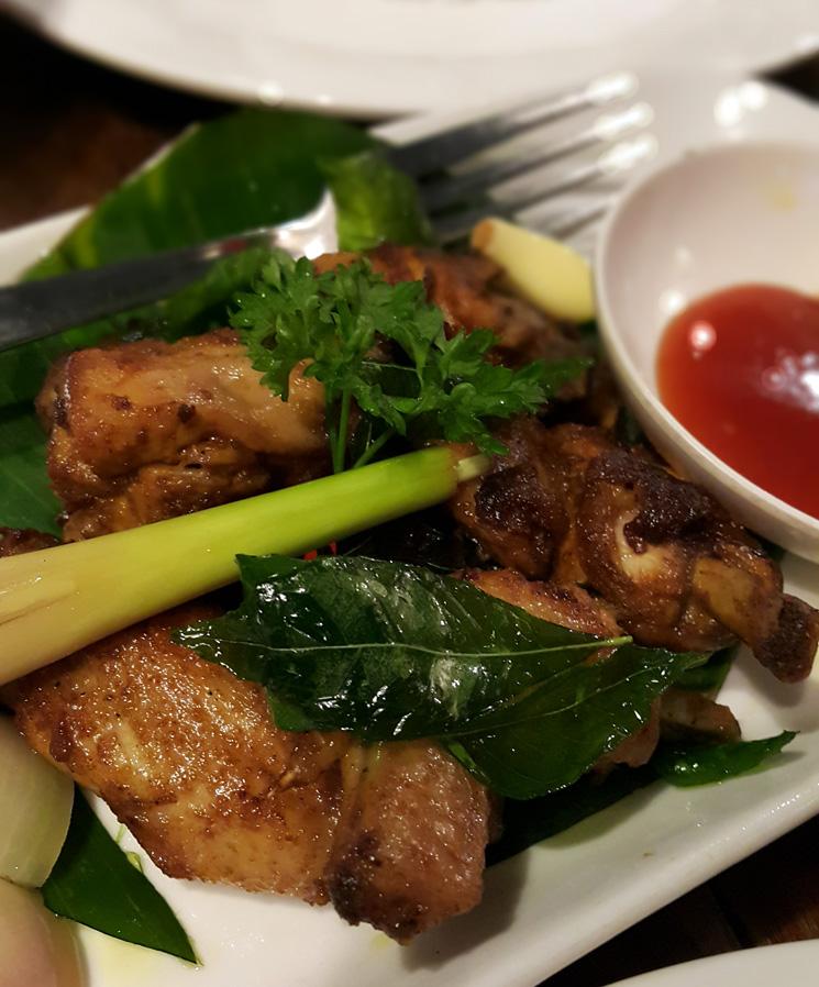 Ayam Goreng Berempah. RM 15 (small).