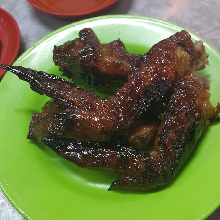 BBQ Chicken Wing di W.A.W Restaurant